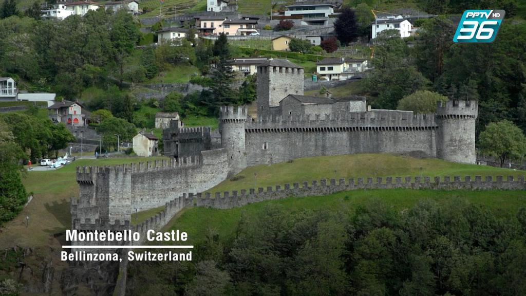 ดูเพลินๆ | ปราสาท Castelgrande เสน่ห์มรดกโลก  | เที่ยวให้สุด สมุดโคจร EP.4