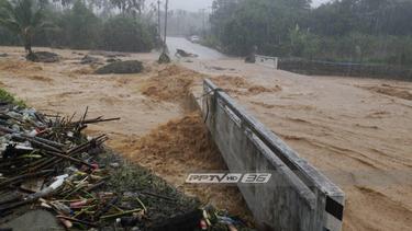 อุตุฯ เตือนระวังอันตราย 6 จังหวัด เสี่ยงน้ำท่วม-น้ำป่าไหลหลาก