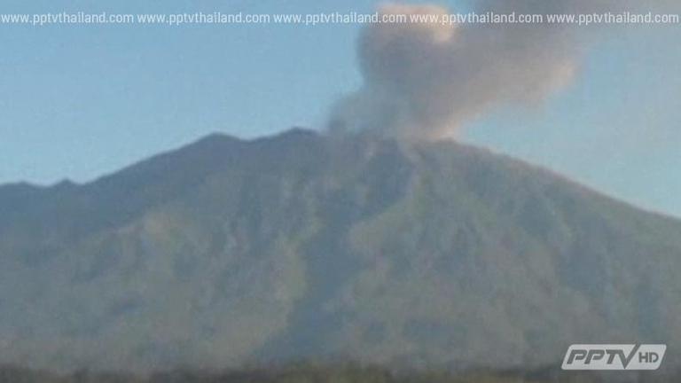 ภูเขาไฟราอุง อินโดฯ ปะทุ ทางการสั่งปิดสนามบิน 5 แห่งชั่วคราว