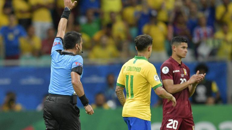 """VAR แผลงฤทธิ์ """"บราซิล"""" ซัด 3 ตุง โดนยึดคืนหมด จบเกมเจ๊า """"เวเนซุเอลา"""" 0-0"""