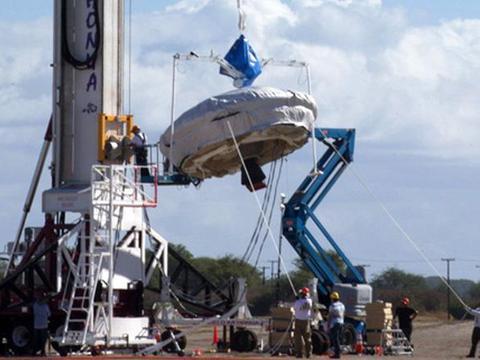 นาซาเตรียมทดสอบยานบินเหนือเสียง ก่อนส่งคนไปดาวอังคาร