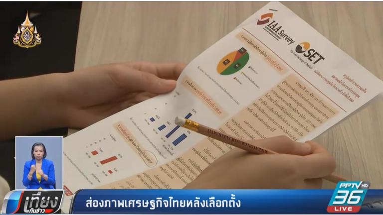 ส่องภาพเศรษฐกิจไทยหลังเลือกตั้ง