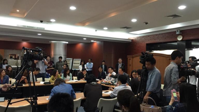 กสทช.แถลงไทยทีวียกเลิกใบอนุญาตประกอบการ ต้องจ่ายเงินค่าประมูล