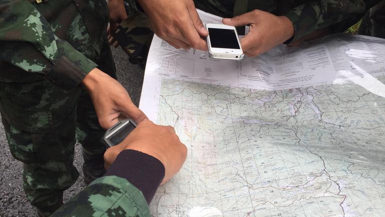 ปฏิบัติการค้นหา ฮ.สูญหาย ดอยอินทนนท์ วันที่ 2 คาด 6 ชม.พบ UH-72 (คลิป)
