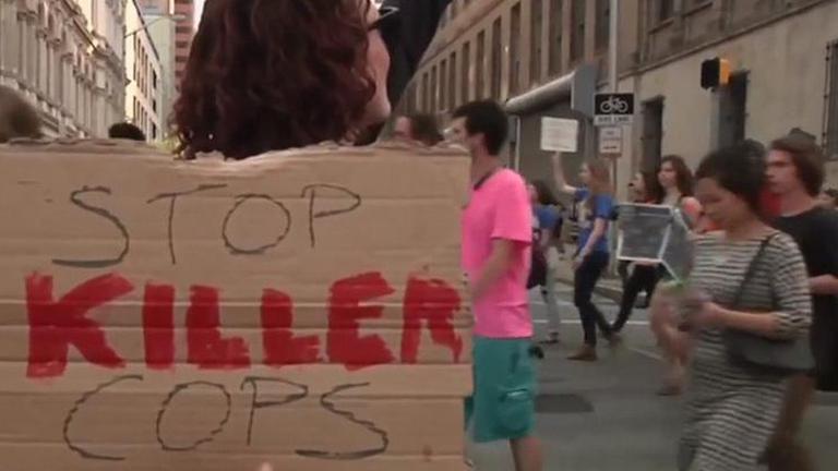 จราจลบัลติมอร์ สหรัฐฯ บานปลาย ประชาชนหลายเมืองใหญ่ร่วมเดินประท้วง