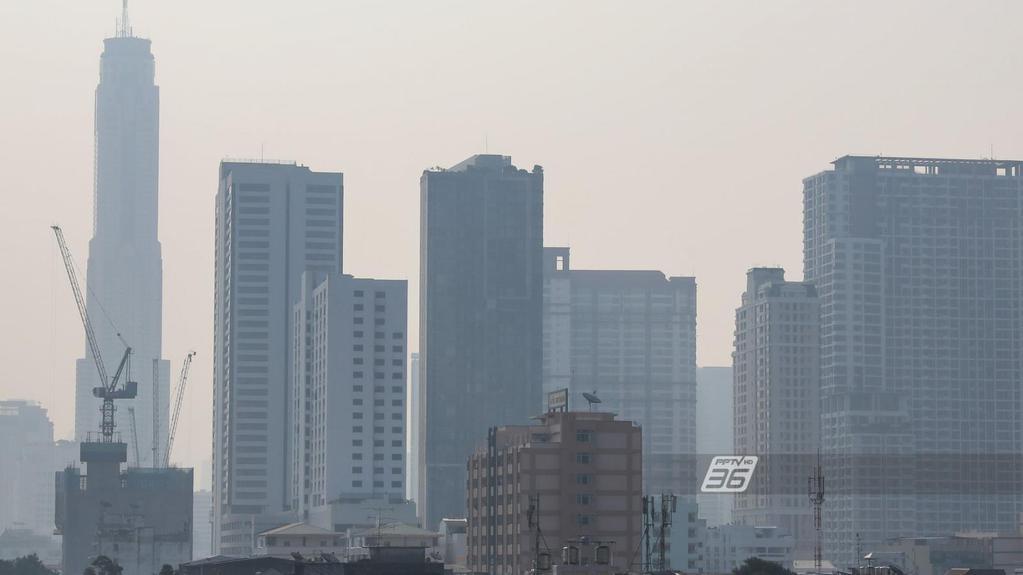 ฝุ่น PM 2.5 พุ่งเกินค่ามาตรฐาน 42 พื้นที่ คพ.เตือน ปชช.ระวังสุขภาพ