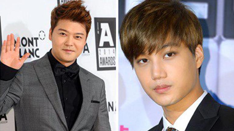 """""""ชอนฮยอนมู"""" ทวีตขอโทษ """"ไค"""" EXO ปัดเมินกลางงาน SBS Gayo Daejeon"""