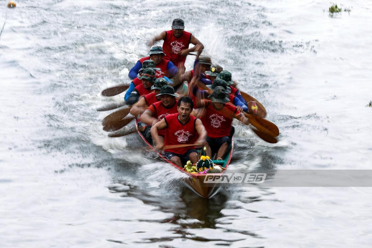 """อะเมซิ่งสปีด """"แข่งเรือมาด"""" ประเพณีไทยโบราณ ที่สมุทรปราการ"""