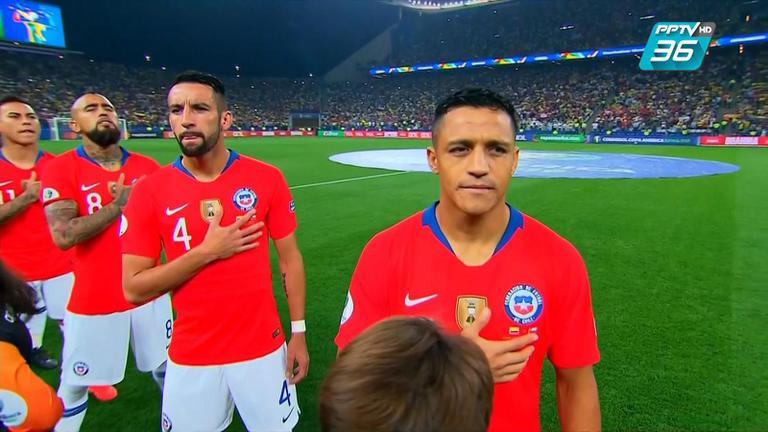 #เคาะหลังเกม  ชิลี ดวลจุดโทษชนะ โคลอมเบีย ผ่านเข้ารอบ 4 ทีมได้สำเร็จ