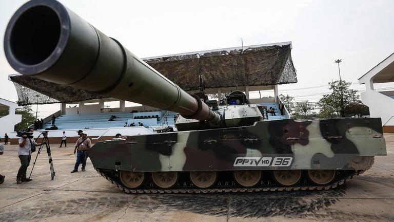 """อย่าตกใจ! กองทัพไทย เคลื่อนย้ายยุทโธปกรณ์เข้ากรุง จัดงาน """"วันเด็ก"""""""