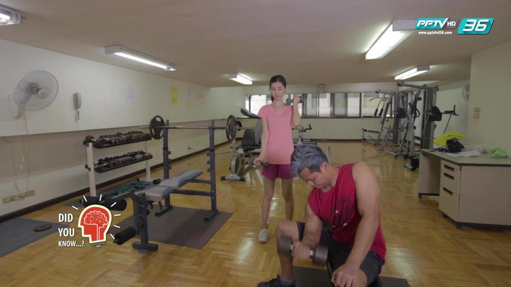 ถ้าผู้หญิงเล่นเวทเทรนนิ่งบ้าง กล้ามจะใหญ่โตเท่าผู้ชายหรือไม่
