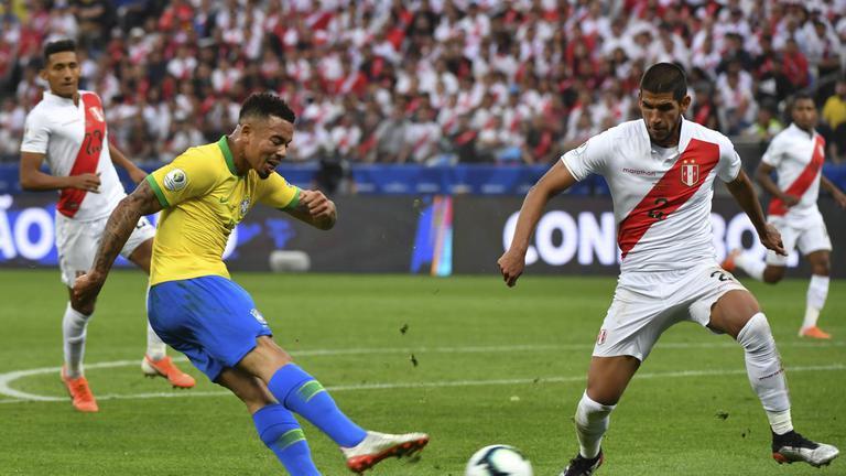 """""""บราซิล"""" ถล่ม """"เปรู"""" 5-0 ลิ่ว 8 ทีม โคปา อเมริกา 2019"""