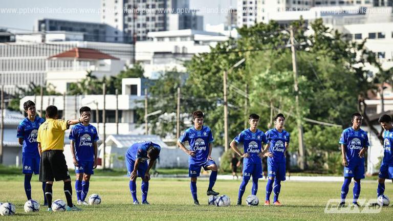ทีมชาติไทยชุด U-23 เรียกความฟิตก่อนเตรียมลุยชิงแชมป์เอเชีย รอบสุดท้าย