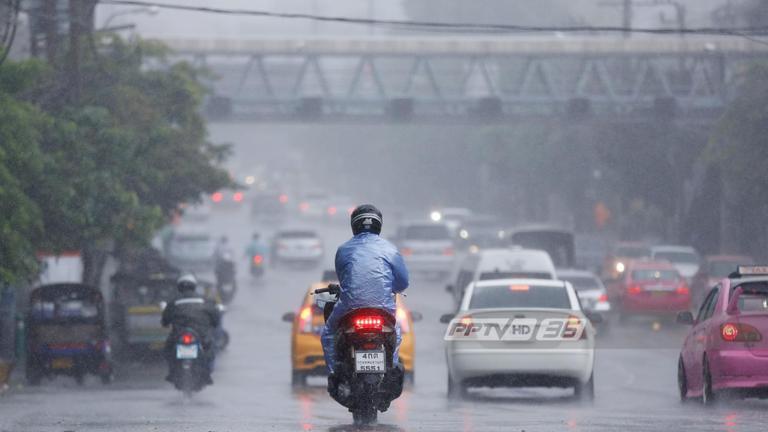 กรมอุตุฯ เตือนฝนกระหน่ำกรุงวันนี้