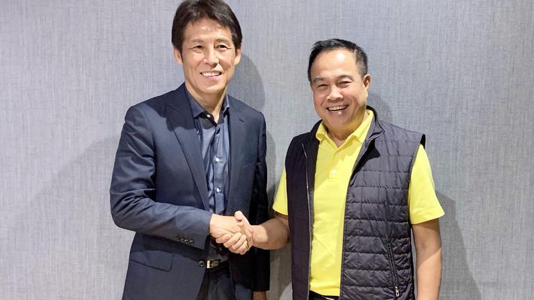 สมาคมฯ ตั้ง อากิระ นิชิโนะ คุมช้างศึกชุดใหญ่และ U23