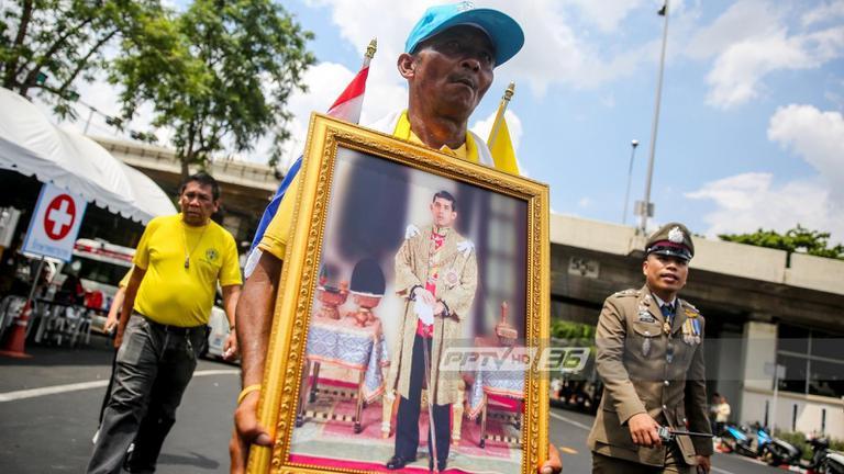 ชายสุราษฎร์ เดิน 12 วัน ถึงสนามหลวง ร่วมพระราชพิธีฯ