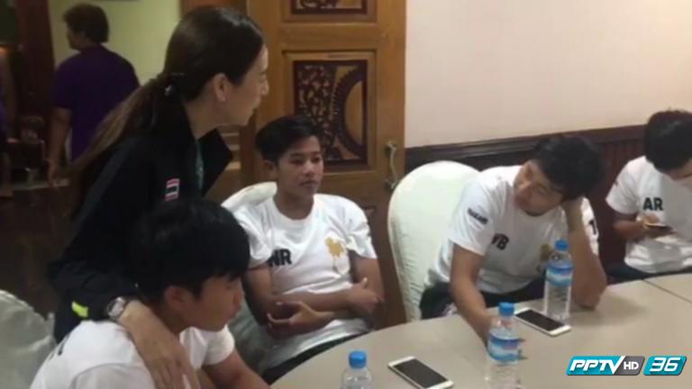 """""""มาดามแป้ง"""" ย้ำสาวไทยสู้เพื่อแชมป์อาเซี่ยน 2 สมัยติด"""