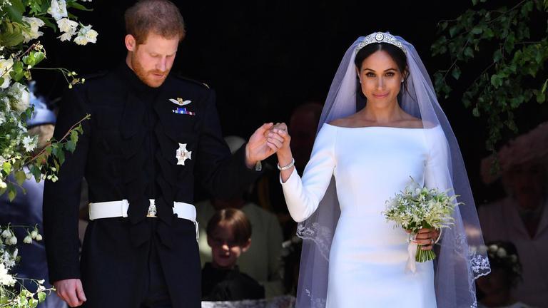 เจ้าชายแฮร์รี่เสกสมรส เมแกน มาร์เคิล
