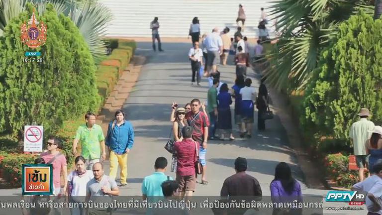 สงกรานต์หลวงพระบางเริ่มฮิต นักท่องเที่ยวจีน-เกาหลี-ไทย แห่ร่วมเล่นน้ำแน่น