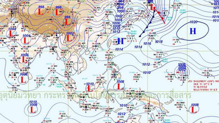 อุตุฯ เผยไทยมีฝนฟ้าคะนองเพิ่มมากขึ้น