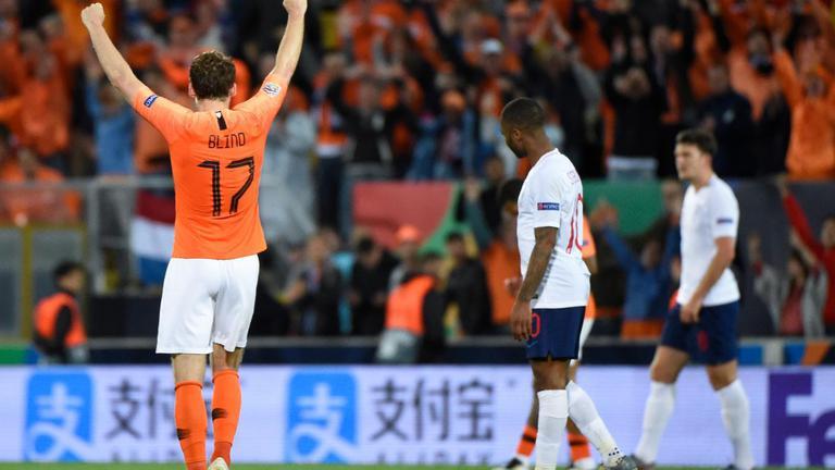 """""""เนเธอร์แลนด์"""" ชนะ """"อังกฤษ"""" 3-1 เข้าชิงเนชั่นส์ลีก"""