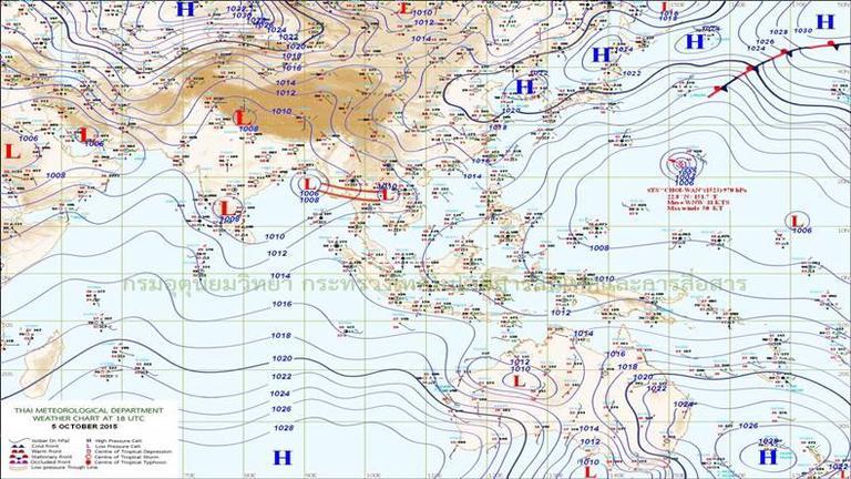 ทั่วไทย-กทม. ฝนหนาแน่น 70 % เหนือ-ใต้ ฝน 30-60%