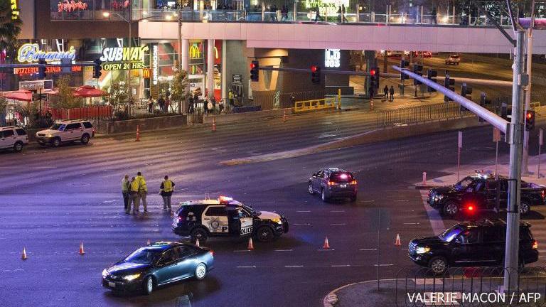 รถพุ่งชนคนหน้าโรงแรมในลาสเวกัส เสียชีวิต 1 ราย บาดเจ็บ 36 ราย