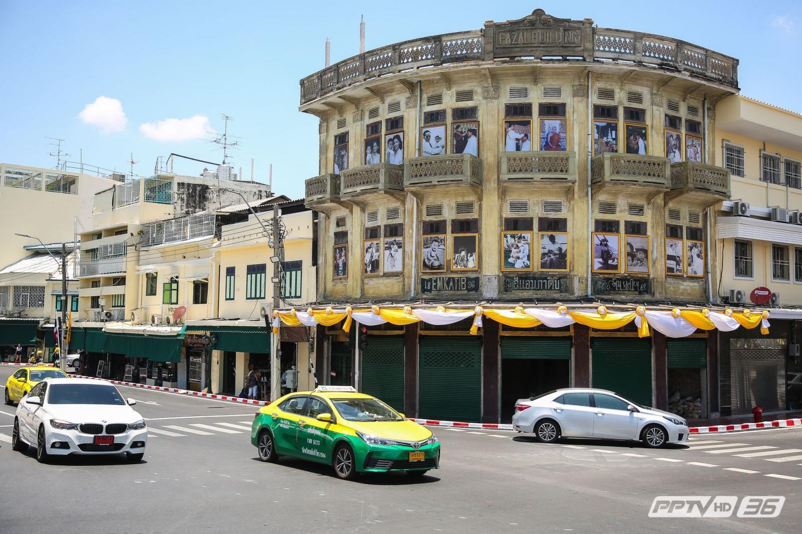 อาคารที่อยู่บริเวณแยกสะพานช้างโรงสี หน้ากระทรวงมหาดไทย คือหนึ่งในเส้นทางริ้วขบวนเสด็จพยุหยาตราทางสถลมารค พระราชพิธีบรมราชาภิเษก พุทธศักราช ๒๕๖๒