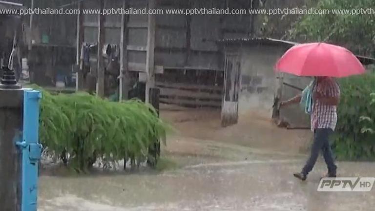 ไทยตอนบนฝนตกอย่างต่อเนื่อง เตือนประชาชนระวังภัยอันตราย