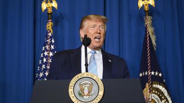 """""""ทรัมป์"""" ขู่ถล่ม 52 พื้นที่สำคัญของอิหร่าน หากสหรัฐฯถูกเอาคืน"""
