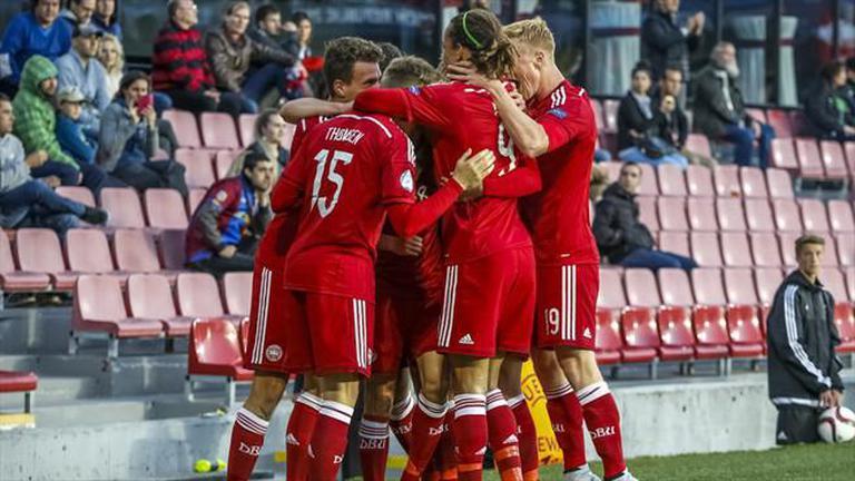ไฮไลท์ UEFA U21 : เดนมาร์กถล่มเซอร์เบีย2-0 ซิวแชมป์กลุ่ม