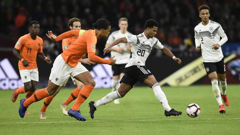 """""""เยอรมนี"""" บุกเชือด """"เนเธอร์แลนด์"""" นาทีสุดท้าย 3-2"""