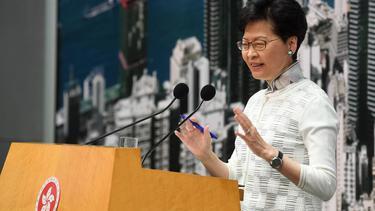 รบ.ฮ่องกง ยอมแขวนกฎหมายส่งผู้ร้ายข้ามแดน แบบไม่มีกำหนด