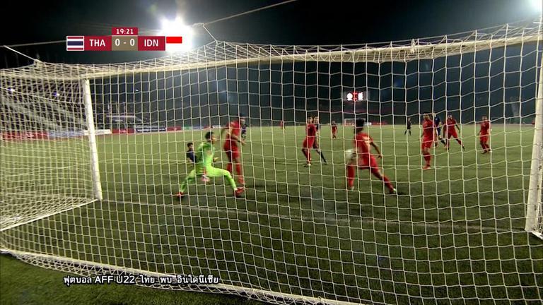 ไฮไลท์ AFF U22 LG Cup 2019 ทีมชาติไทย พ่าย อินโดนีเซีย 1 - 2