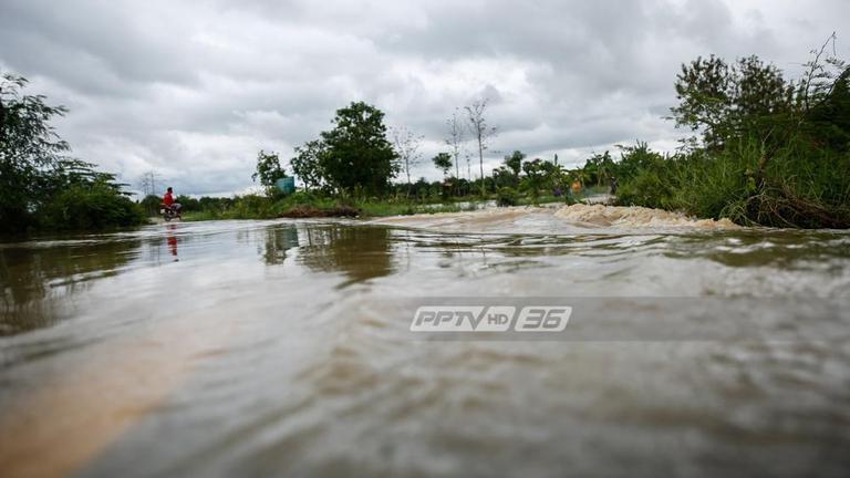 น้ำท่วมพื้นที่เกษตรกรรม จ.สุโขทัย เสียหายกว่า 70,000 ไร่