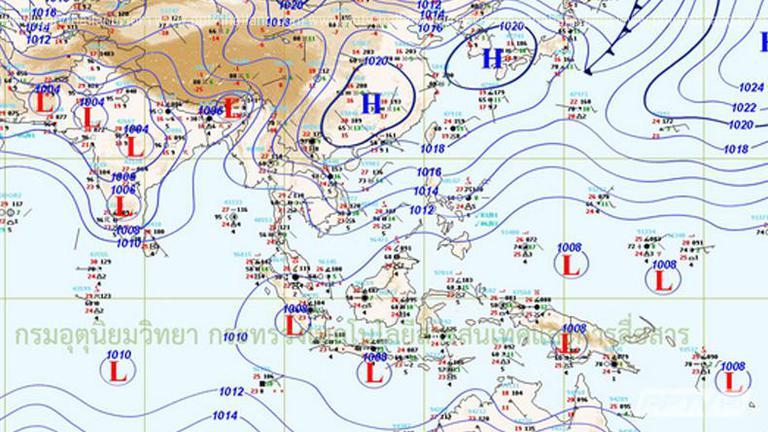 อุตุฯ เผย 26-27 เม.ย.ฝนลด-อุณหภูมิสูงขึ้น