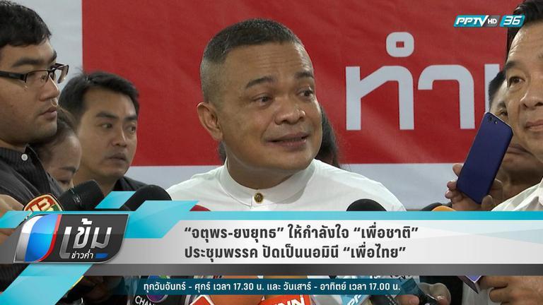 """""""ยงยุทธ"""" ยัน""""พรรคเพื่อชาติ""""ไม่ใช่นอมินี """"เพื่อไทย"""""""