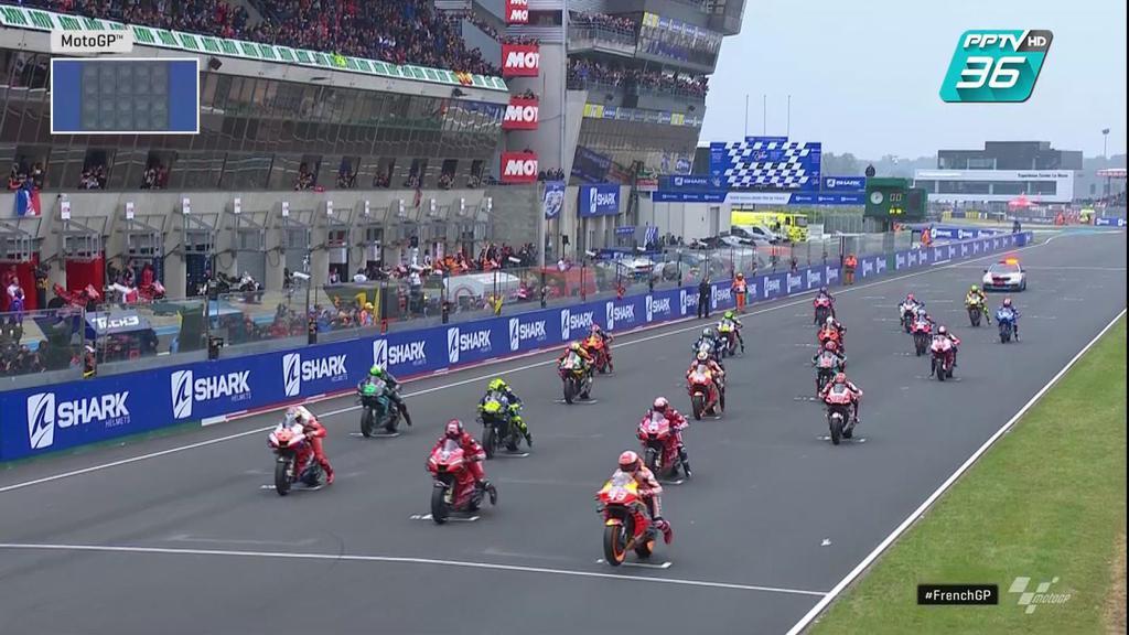 """ความสนุกของสนามที่ 5 เริ่มแล้ว ส่งตรงจากสนาม """"Le Mans"""" ประเทศฝรั่งเศส"""