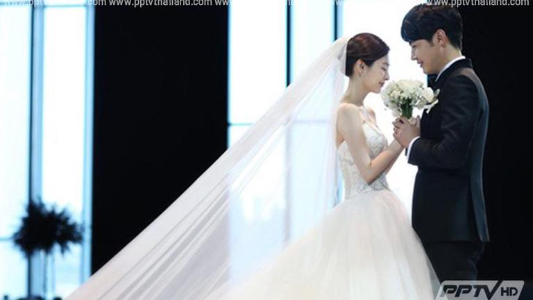 """เผยภาพงานแต่งสุดหวานพระเอก """"ยุนซังฮยอน"""" กับนักร้องนักแต่งเพลง """"เมย์บี"""""""
