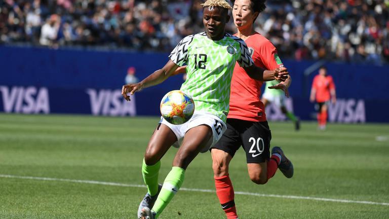 """ผลฟุตบอลโลกหญิง 2019 """"ไนจีเรีย"""" ชนะ """"เกาหลีใต้"""" 2-0 ยังมีลุ้นเข้ารอบ"""