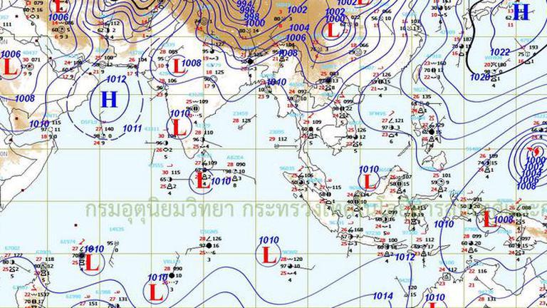 อุตุฯ เตือน1-3 เม.ย.ภาคเหนือ มีฝนฟ้าคะนอง