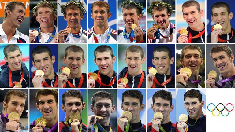"""""""เฟลป์ส"""" คว้าทอง  ที่ 23 ส่งท้ายโอลิมปิก"""