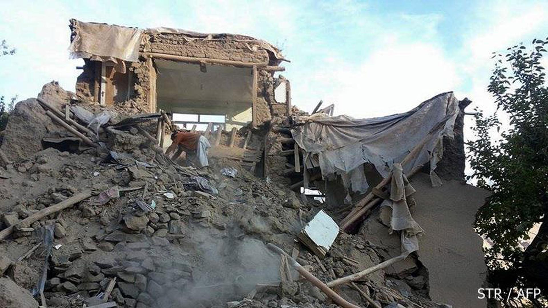 ยอดผู้เสียชีวิตเหตุแผ่นดินไหวอัฟกานิสถานพุ่ง 282 ราย