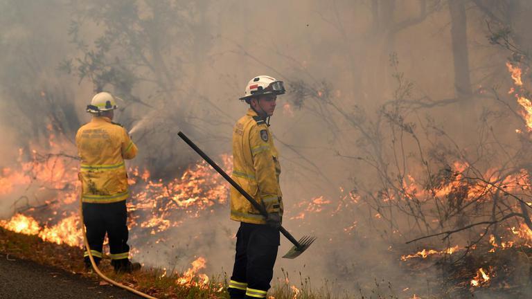 ออสเตรเลีย เร่งคุมไฟป่าก่อนอุณหภูมิสูงแตะ 40 องศา วันอังคารนี้