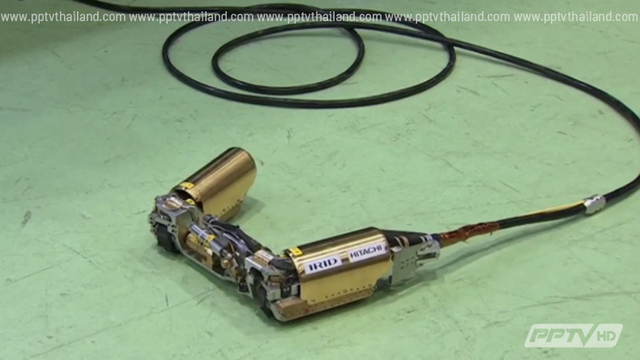 """""""เทปโก"""" ส่งหุ่นสำรวจเข้าภายในเตาปฏิกรณ์ฟุกุชิมาครั้งแรก"""