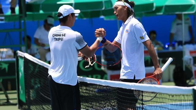 """การแข่งขันเทนนิสชิงแชมป์โลก """"เดวิส คัพ บาย บีเอ็นพี ปาริบาส์"""" ประจำปี 2016 กรุ๊ป 2 โซนเอเชียโอเซียเนีย รอบสุดท้าย"""