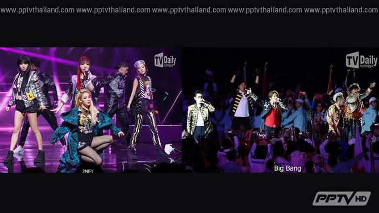 """BIGBANG-2NE1"" คว้ารางวัล ""2015 Youtube Music Award"""