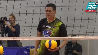 """""""โค้ชด่วน"""" ประกาศลาออกหลังตบสาวไทย ชวดไปโอลิมปิก"""