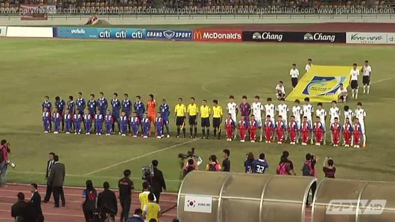 ไทยคว้ารองแชมป์ฟุตบอลคิงส์คัพ หลังเสมอเกาหลีใต้ 0-0