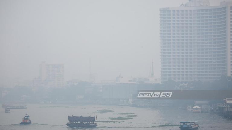 ลมสงบ! ค่าฝุ่นละออง PM 2.5 กทม.-ปริมณฑลเพิ่มขึ้นทุกพื้นที่